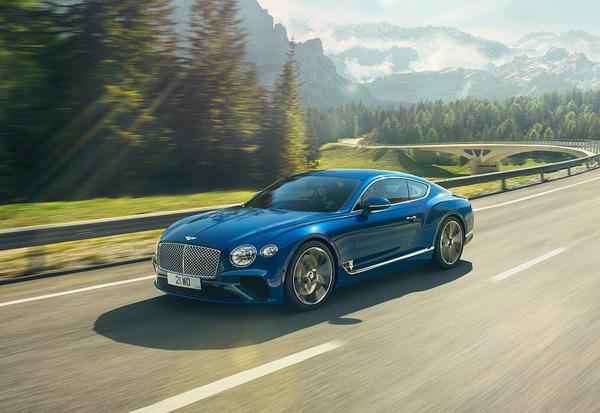 Рекламная видеосъемка с FPV дрона для Bentley!