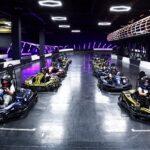 Black Star Karting: аэросъемка со скростного fpv дрона